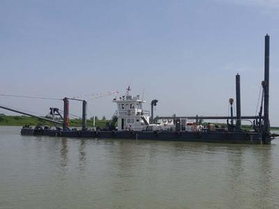 Cutter Suction Dredger in Guangxi, China